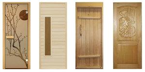 Окна и двери для бани