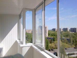 Остекление балкона в Орске
