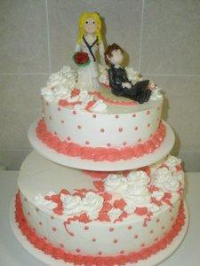 Свадебный торт на заказ в Вологде