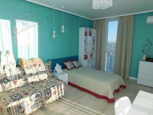 Свежие фотографии наших работ с текстильным оформлением детской комнаты