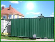 Откатные автоматические ворота в Туле