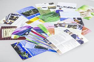 Печать листовок большими тиражами