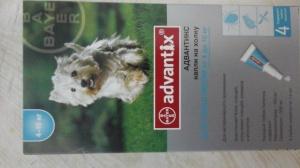 Advantix - капли от клещей со скидкой 45%