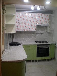 Кухня из пластика на заказ в Туле