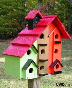 Конкурс «На лучший птичий домик»