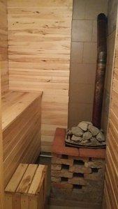 Баня на Водной, 29: сауна с бассейной, бани на дровах