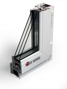 Окно шириной 70 мм по цене обычного