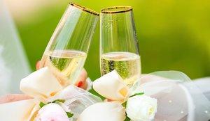 Красивые свадебные бокалы для вашего торжества