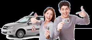 В автошколе «Старт+» действуют скидки 5%. Обучение водителей категории В. Получить права