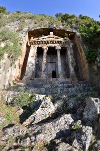 Новые фото из Ликийского Царства от исследователя древностей Юрия Семендяева