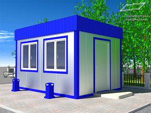 Изготовление быстровозводимых остановочных и торговых павильонов в Оренбурге