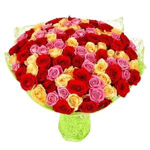 АКЦИЯ 101 роза - 3000 руб.