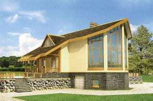 Недорогие дома от строительной компании «Эко Хаус»!