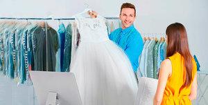 Химчистка свадебного платья в Вологде
