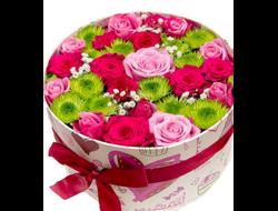 Череповец цветы в коробке
