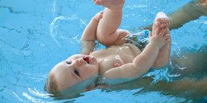 Приглашаем пройти курс по плаванию для грудничков!