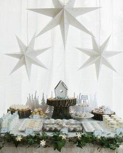 Сладкий стол для зимней свадьбы!