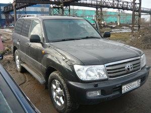 Аукцион на продажу автомашины Toyota Land Cruiser 100 бывшей в употреблении
