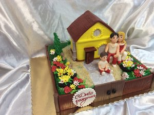 Торт ручной работы в Вологде