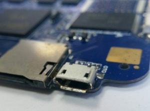 Замена USB разьемов