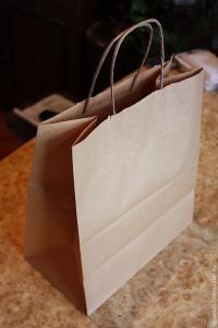 Пакеты крафт по супер ценам! Пакеты с ручками