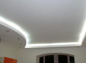 Матовый натяжной потолок в квартиру или дом