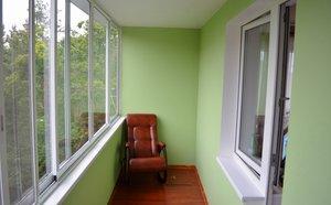 Ремонт балкона «под ключ»
