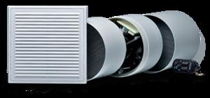 Установка приточно-вытяжной вентиляции