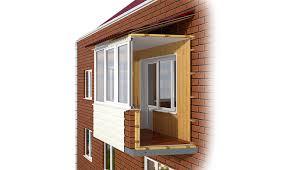 Внешняя и внутренняя отделка балконов в Орске