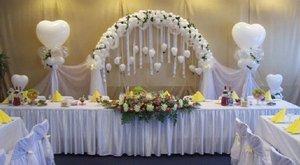 Оформление праздничных залов шарами