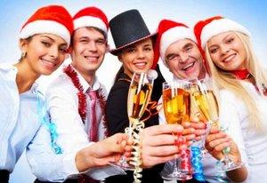 Новогодний корпоратив в ресторане в Туле