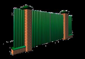 Забор из профнастила в Ярославле