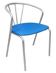 Стул для кафе Лира (синий) - 750 руб.