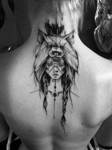 Художественная татуировка любого вида в Орске
