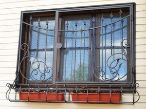 Заказать металлические решетки на окна