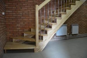 Лестница из берёзы