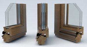 Купить деревянные окна со стеклопакетами на заказ