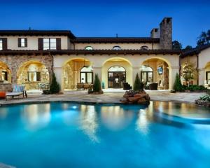 Строительство домов в Средиземноморском стиле из природного камня!