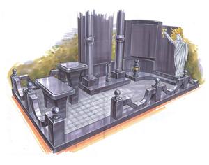 Изготовление памятников и надгробий по индивидуальному заказу