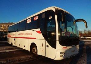 Автобус Вологда - Санкт-Петербург и Санкт - Петербург - Вологда