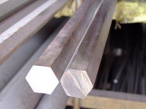 Прокат стальной горячекатаный шестигранного сечения