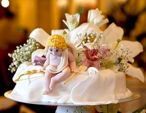 Свадебный торт и каравай в подарок!