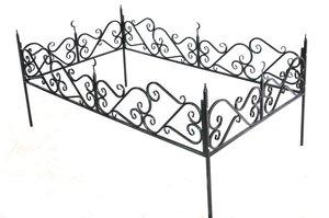 Ограды могильные с полимерным покрытием!