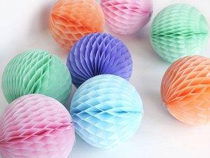 Бумажные шары-соты