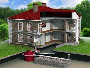 Проведение канализации в частный дом - работают профессионалы!