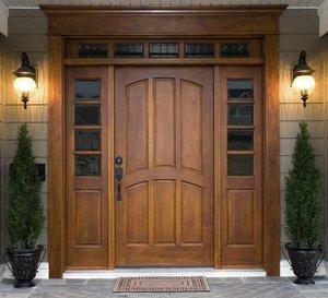 Надежные входные деревянные двери