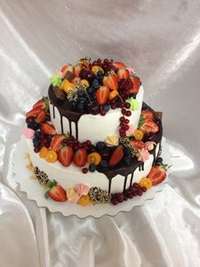 Ягодный торт на заказ