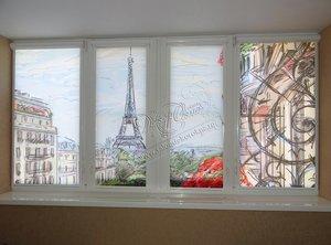 Рулонные шторы на окна системы Уни