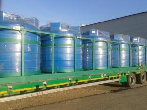 """Емкости типа """"Кассета"""" для перевозки и хранение различных жидкостей."""