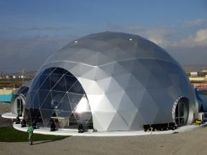 Геодезические купола, шатры
